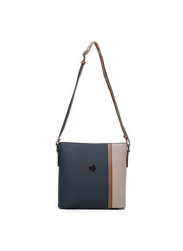 TH Bags   Kadın Çapraz Çanta Th-Yk14024 Pet Petrol